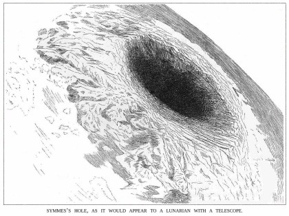 SYMMES HOLE, HOLLOW EARTH