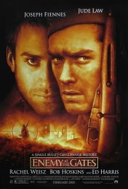MOVIE POSTER, ENEMY AT THE GATES, STALINGRAD, WW2, HISTORY