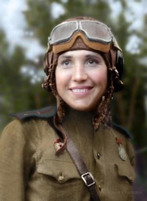 ANTONINA LEBEDEVA, SOVIET WOMEN FIGHTER PILOTS, WW2, AVIATION, HISTORY