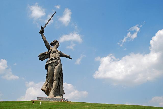 STALINGRAD, MOTHER RUSSIA, WW2, HISTORY