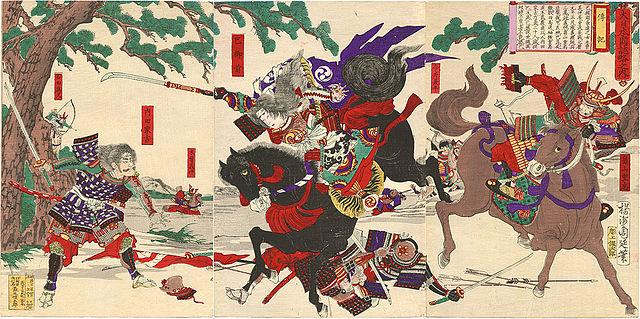WARRIOR WOMEN, TOMOE GOZEN, JAPANESE HISTORY, SAMURAI