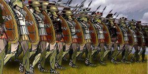 GREEK MILITARY HISTORY, HOPLITE, PHALANX