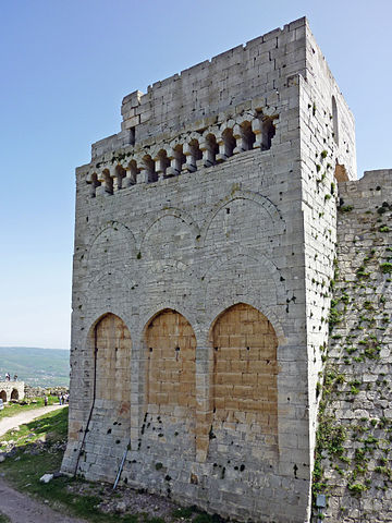 TOWER OF THE KING'S DAUGHTER, KRAK DES CHEVALIERS