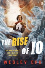 THE RISE OF IO, WESLEY CHU, SCIENCE FICTION NOVEL, SCI FI, BOOK COVER, TAO SERIES