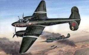 PE-2, WW2, BOMBER, WARPLANES