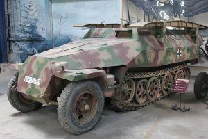 SDKFZ 251, HALFTRACK, WW2, VEHICLES