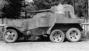 BA-10, WW2, VEHICLES