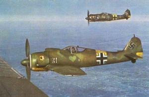 FW 190, WW2, FIGHTER, WARPLANES