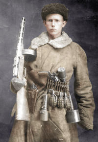 PPSH-41, RGD-33, WW2, WEAPONS