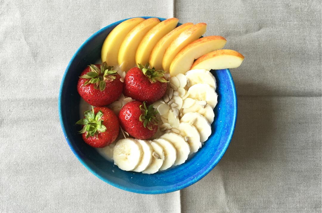 Porridge mit Bananen Rezeptbild