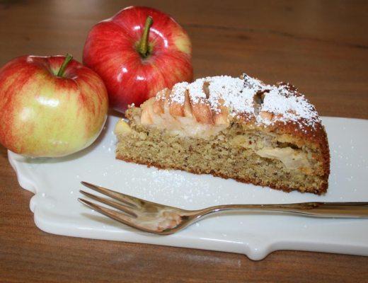 Versunkener Apfelkuchen Rezeptbild
