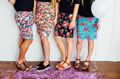 style leather skirt desigen