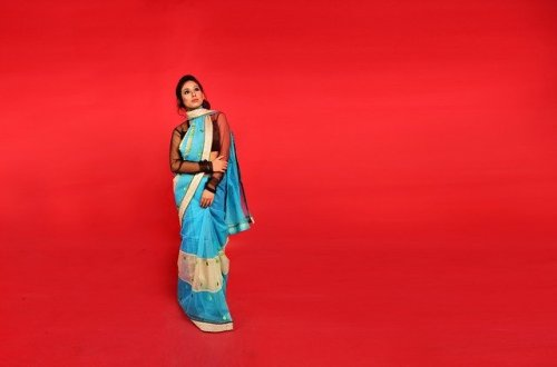 semi silk saree collection