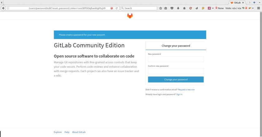 Install Gitlab in Ubuntu via Command Line