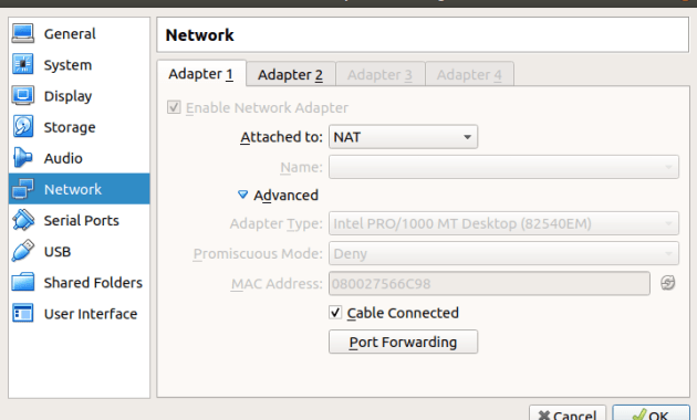 How to Solve No IP Address for NAT Adapter Virtualbox in Linux CentOS VM