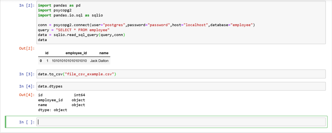 How to Display Available Column of a DataFrame using Pandas Library in Jupyter Notebook
