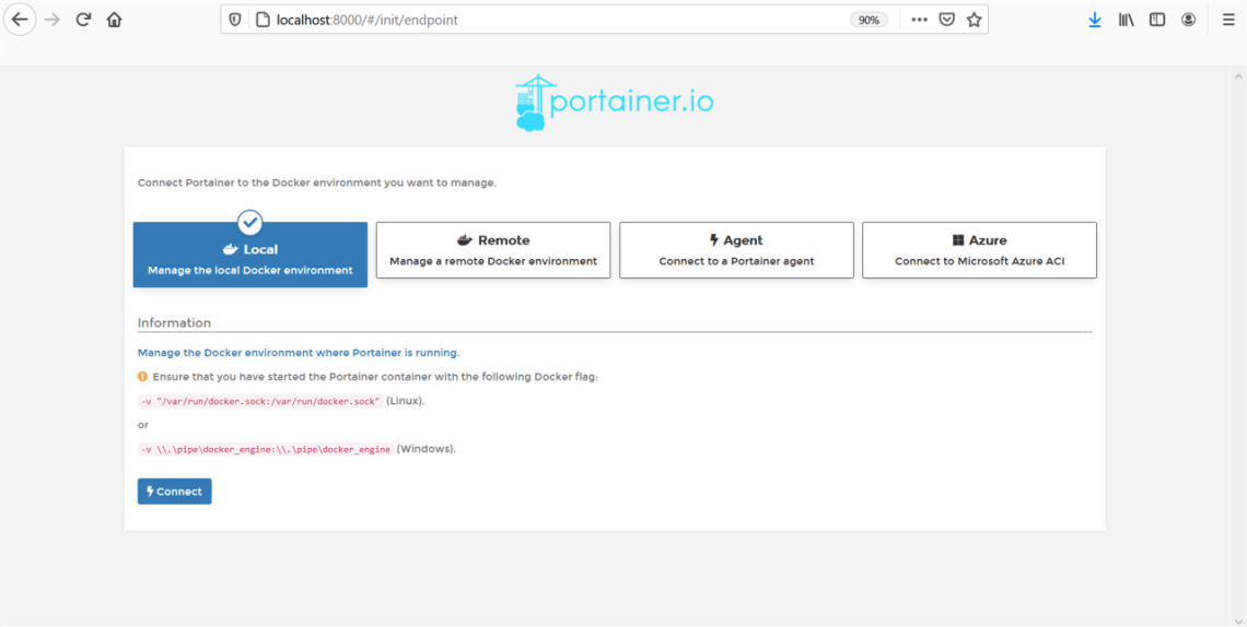 How to Run Container from Portainer in Linux CentOS 8 Virtual Server