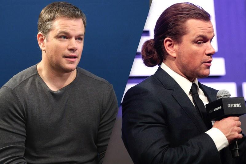 Matt Damon haircut