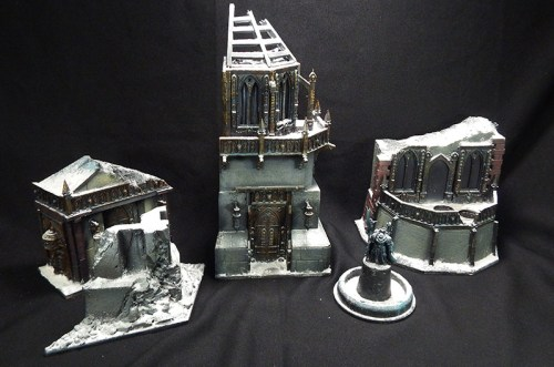 Removable buildings, can be used for terrain in games