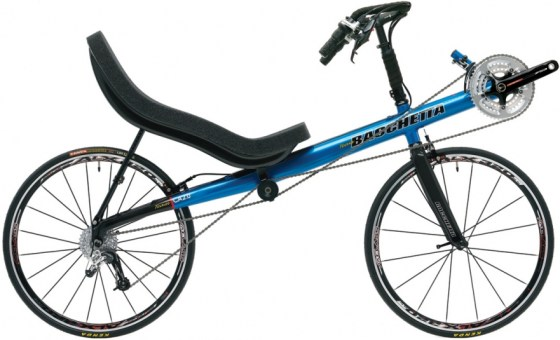 The rather tasty-looking Bachetta Carbon Aero 2.0, demonstrating the American stickbike approach to highracers. Click for more details.