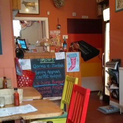 inside of No Way Back cafe