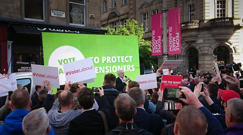 Corbyn Glasgow rally