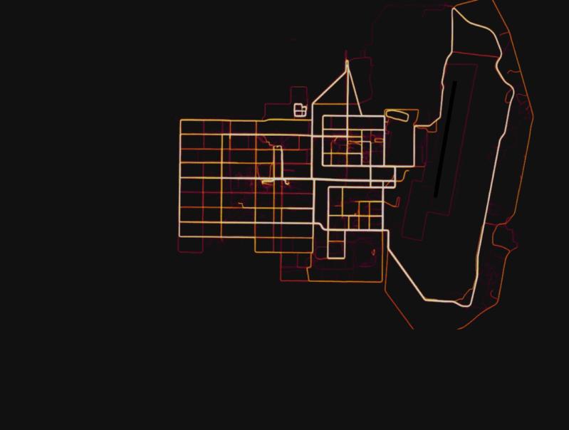 strava heatmap base
