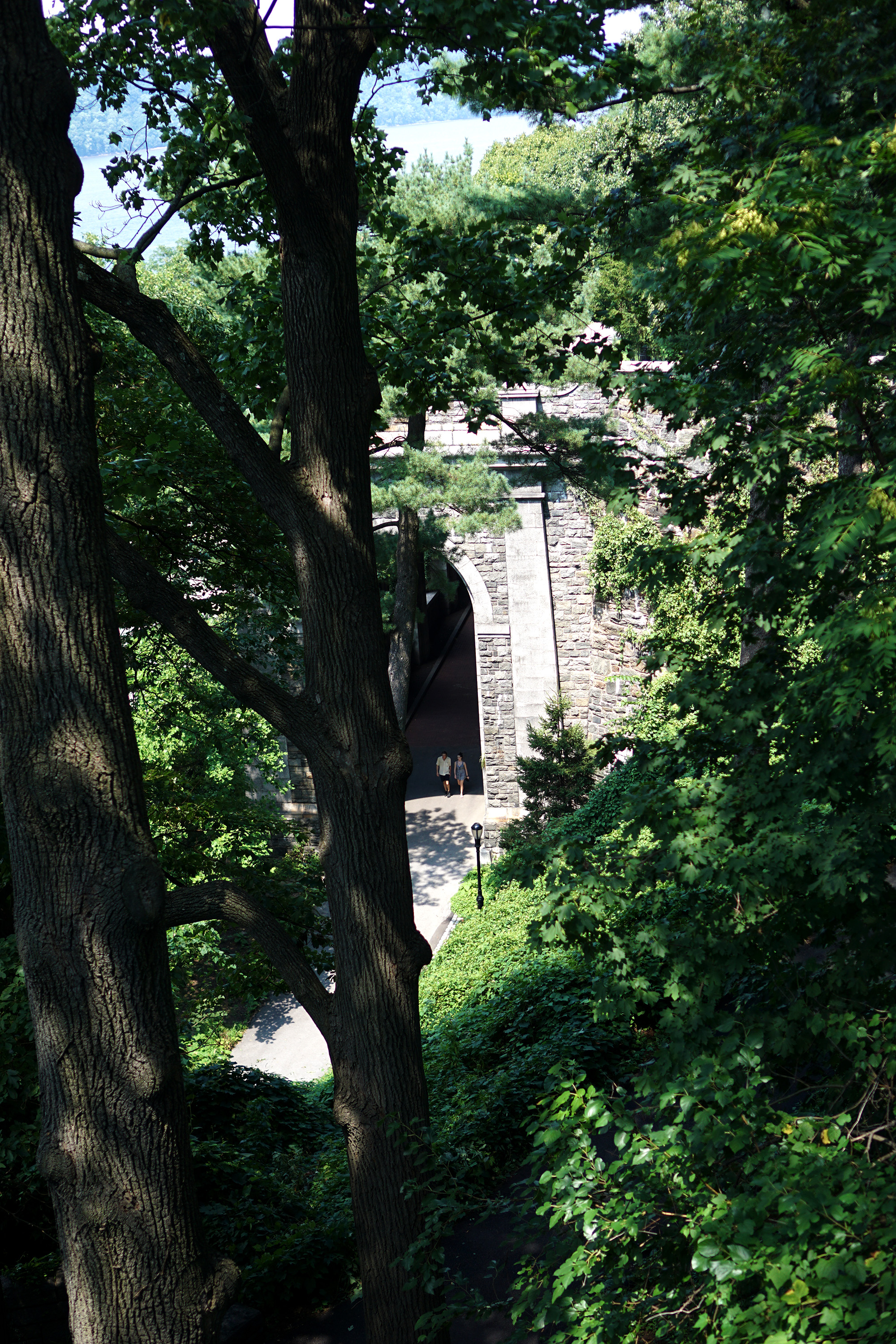 Fort Tryon, Washington Heights, NYC / Darker than Green