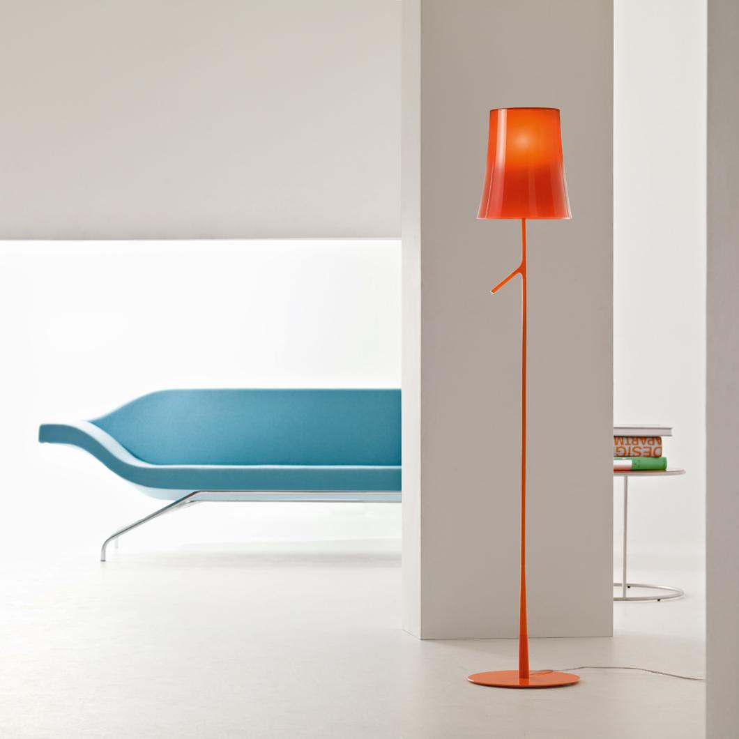 Foscarini Birdie Floor Lamp   Darklight Design   Lighting ...