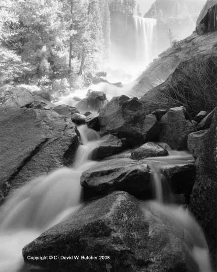 Vernal Falls and Rocks