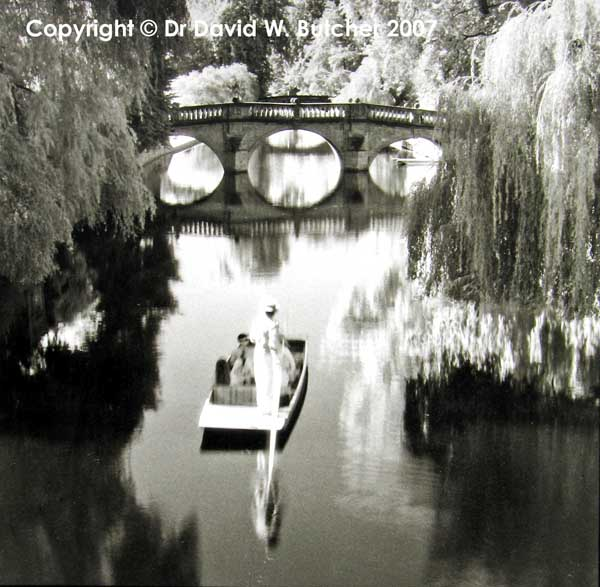 Punt & Clare Bridge, Cambridge
