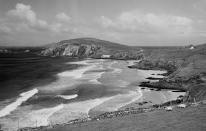 Dunmore Head and beach from near Slea Head