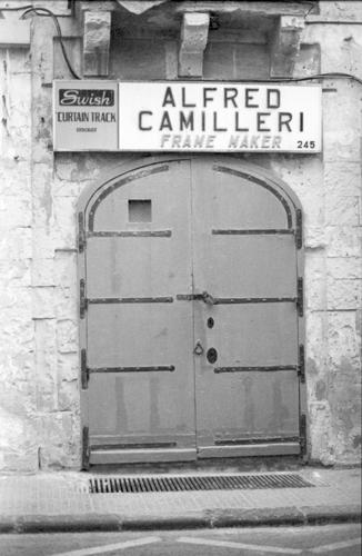 Alfred Camilleri, Shop, VallettaIlford Delta 100, Darkroom Malta, Developing, 35mm Film, Alan Falzon,Pentax