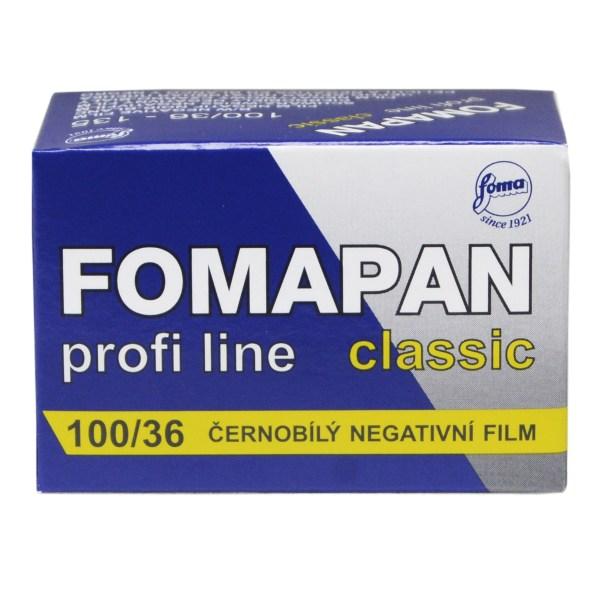 Fomapan 100, General use budget film.