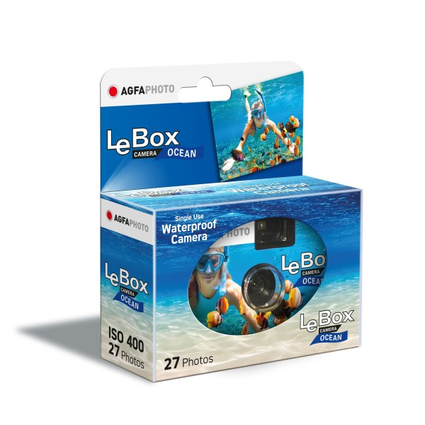 LeBox Water Proof, Agfa Disposable Camera