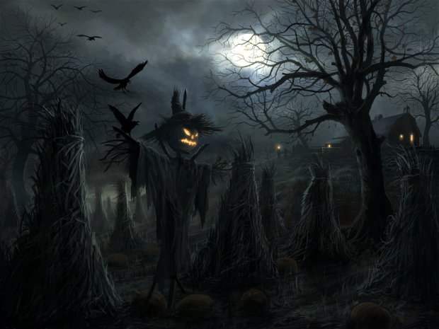 Halloween Fun Fact: Scarecrows, a popular Halloween fixture, symbolize the ancient agricultural roots of the holiday.