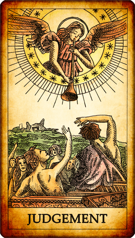 Image result for tarot judgement card