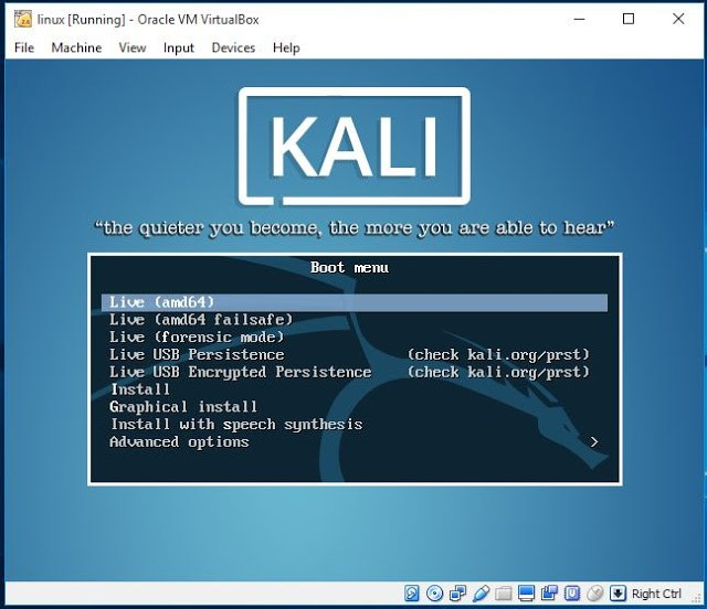 Introduction of Linux How to Install Kali Linux in Virtualbox in Hindi 9