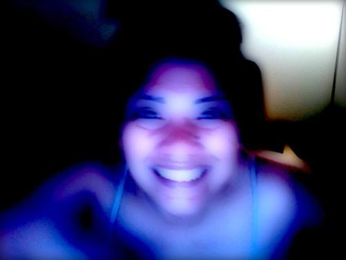 Glowing D