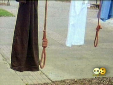 Nooses at Cal State Fullerton