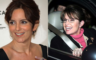 Tina Fey and Sarah Palin