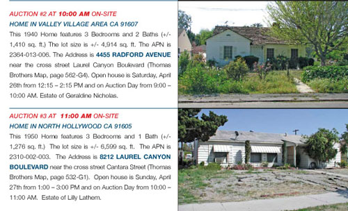 Probate Auctions In LA