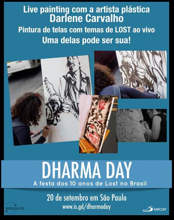 dharma day - flyer