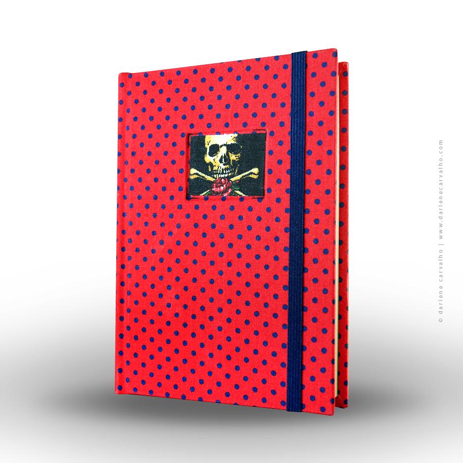 sketchbook-poavermelhoazul-skull-darlene-carvalho