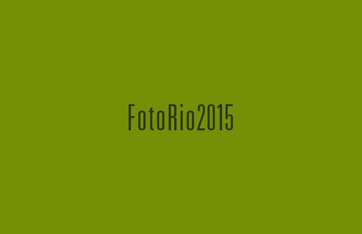 Convite Digital FotoRio 2015 — Exposição de Patricia Portela