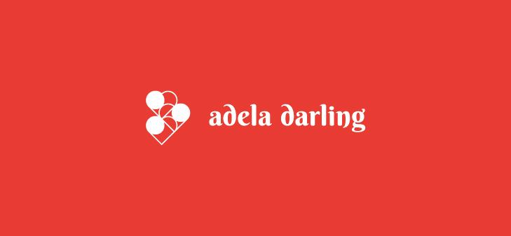 adela darling. identidade visual. darlene carvalho, designer gráfico digital.