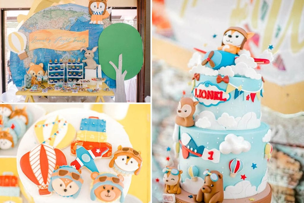 First Birthday Ideas For Boys Darling Celebrations