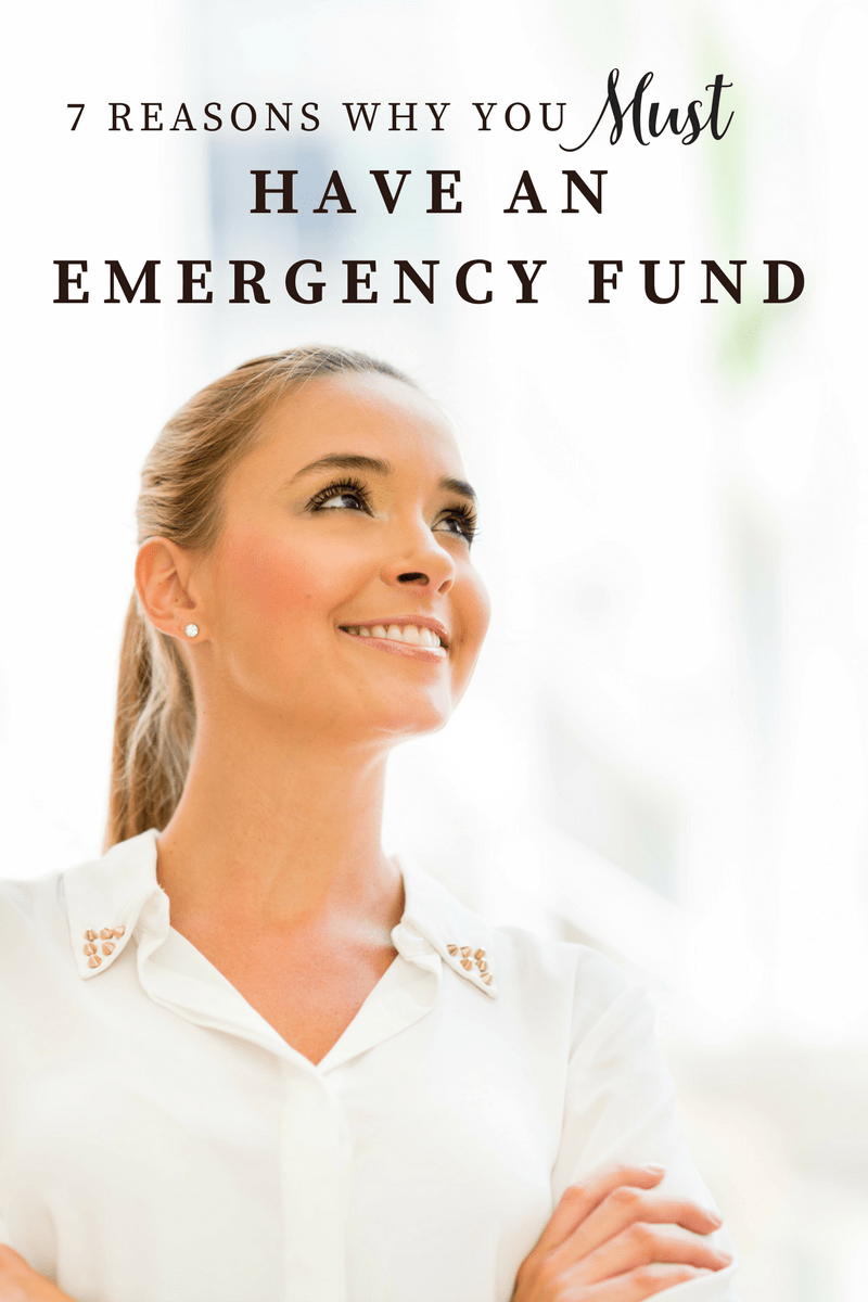7 Reason Why You Need an Emergency Fund- personal finance, savings by Darling CEO