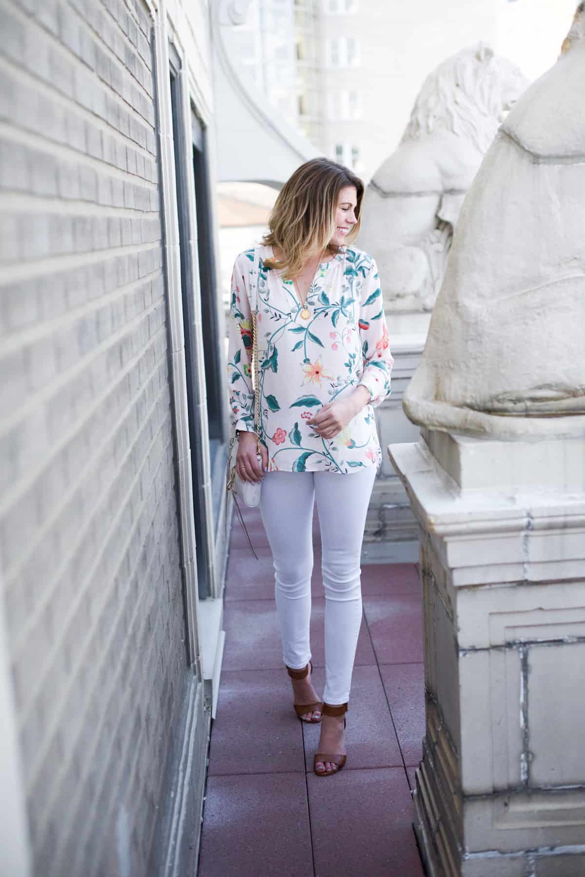 Floral Blouse for Spring