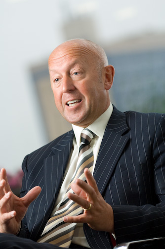 Gary Lumby, Guest speaker at Darlington Business Club